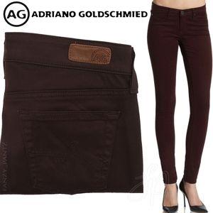 AG Jeans The Jegging Super Skinny Fit Brown 27